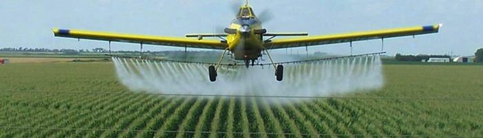 Aerial-spraying